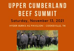 Upper Cumberland Beef Summit   November 13, 2021